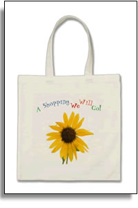 A Shopping We Will Go - Colorful & Cute Economy Tote Bag